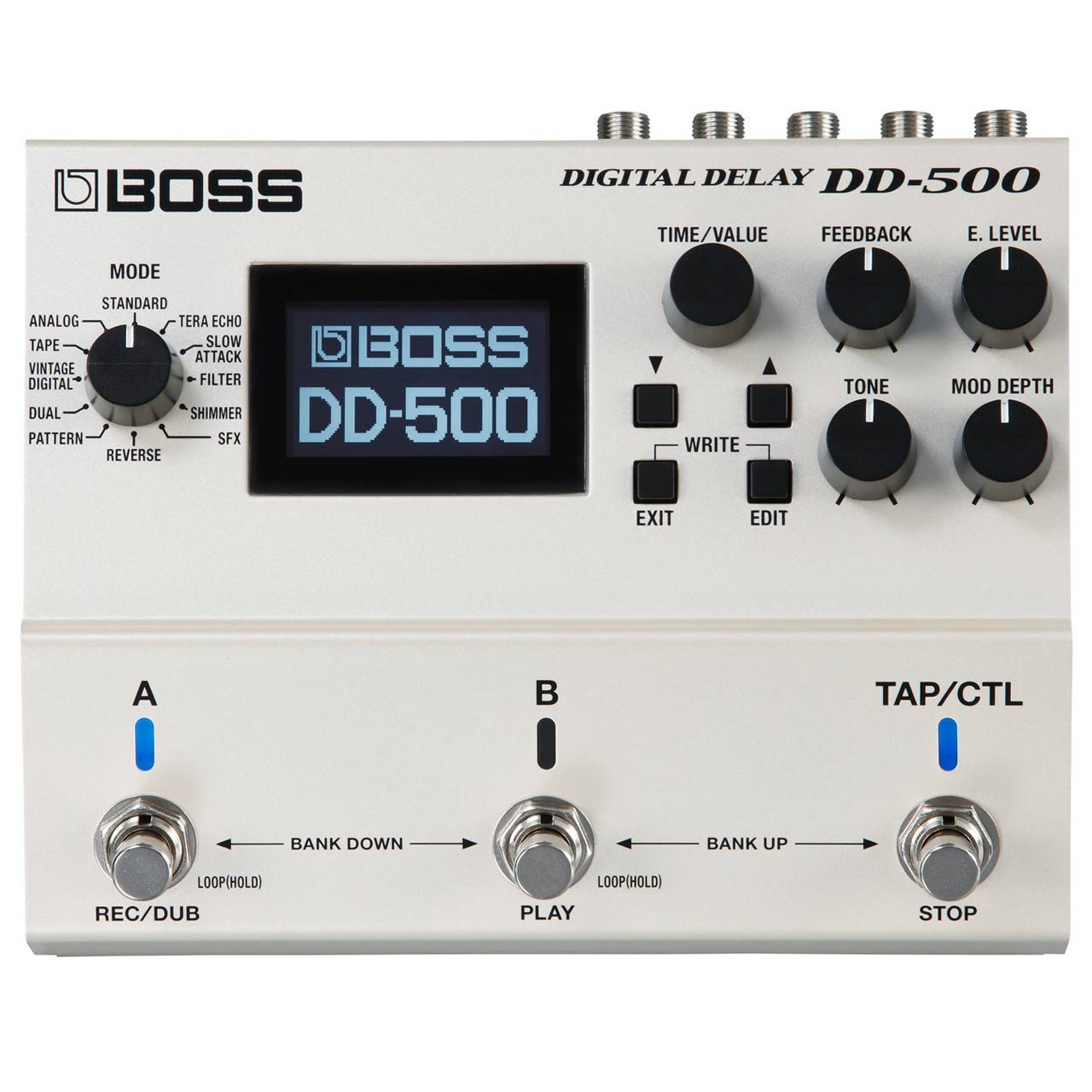 Pedals & Effects - Boss DD-500 Digital Delay Effects Pedal