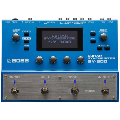 Pedals & Effects - BOSS SY-300 Guitar Synthesizer