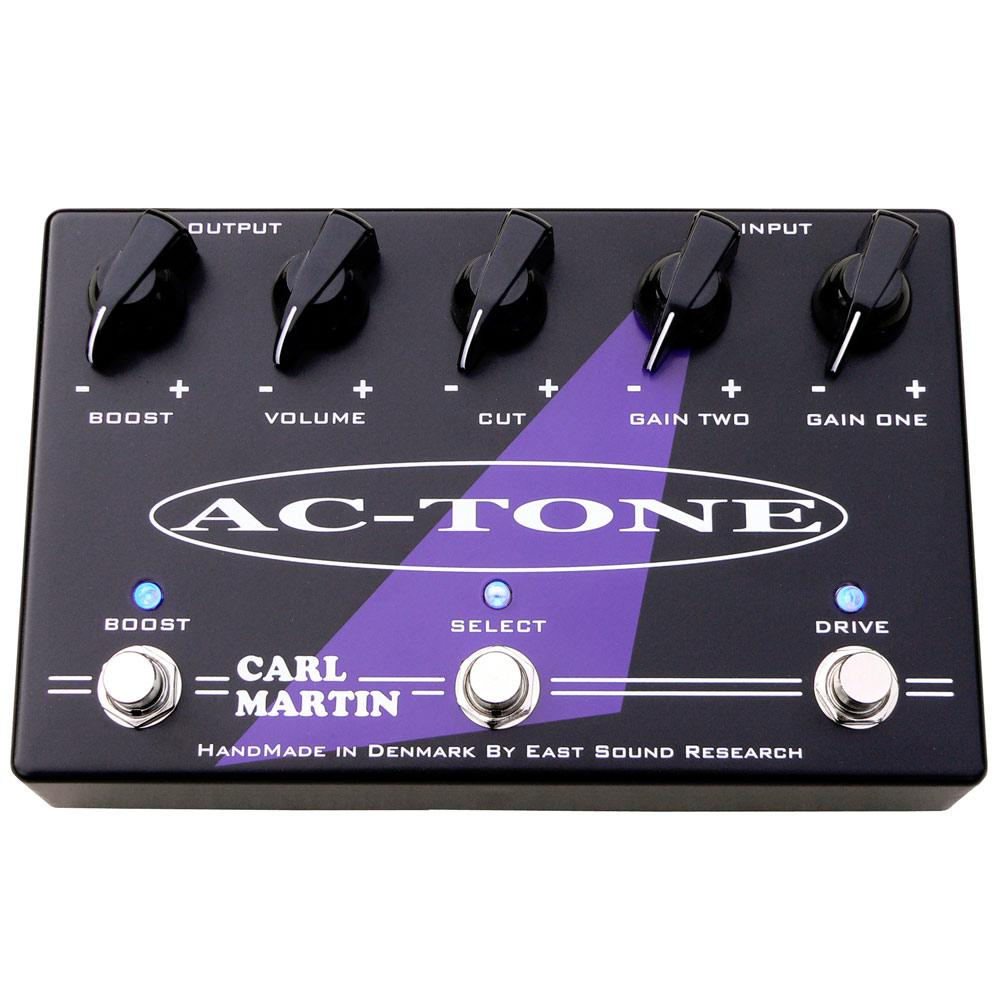 Carl Martin AC-Tone Dual-Channel Overdrive Guitar Pedal