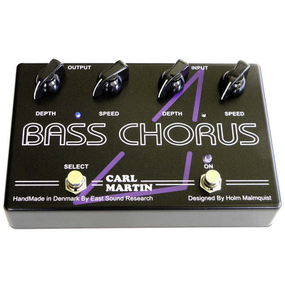 Pedals & Effects - Carl Martin Bass Chorus Guitar Effect Pedal