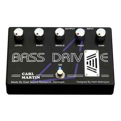 Pedals & Effects - Carl Martin Bass Drive Guitar Effects Pedal