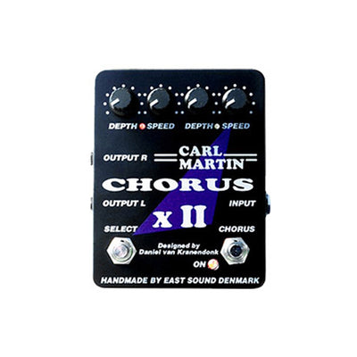 Pedals & Effects - Carl Martin Chorus XII Dual Stereo Guitar Effects Pedal