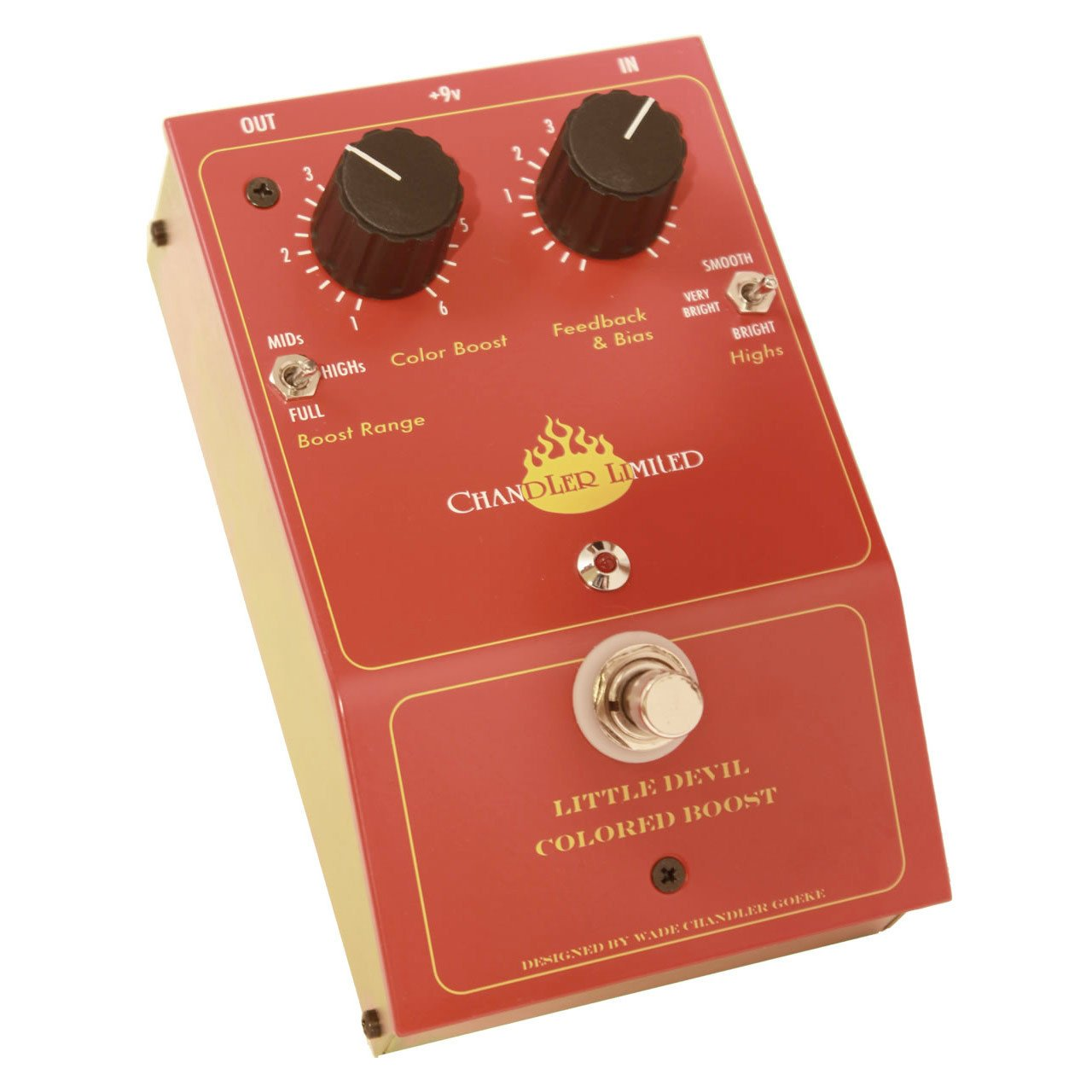 Pedals & Effects - Chandler Limited Little Devil Colored Boost