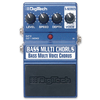 Pedals & Effects - Digitech X-Series Bass Multi-Chorus Bass Guitar Pedal