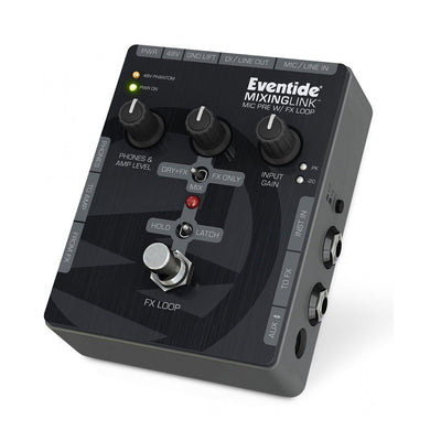 Pedals & Effects - Eventide MixingLink Mic Pre With FX Loop Stompbox