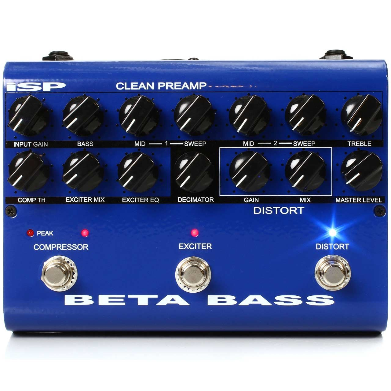 Pedals & Effects - ISP Technologies Beta Bass Preamp Pedal