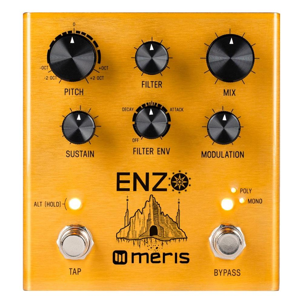 Pedals & Effects - Meris Enzo Multi-Voice Instrument Synthesizer Guitar Pedal