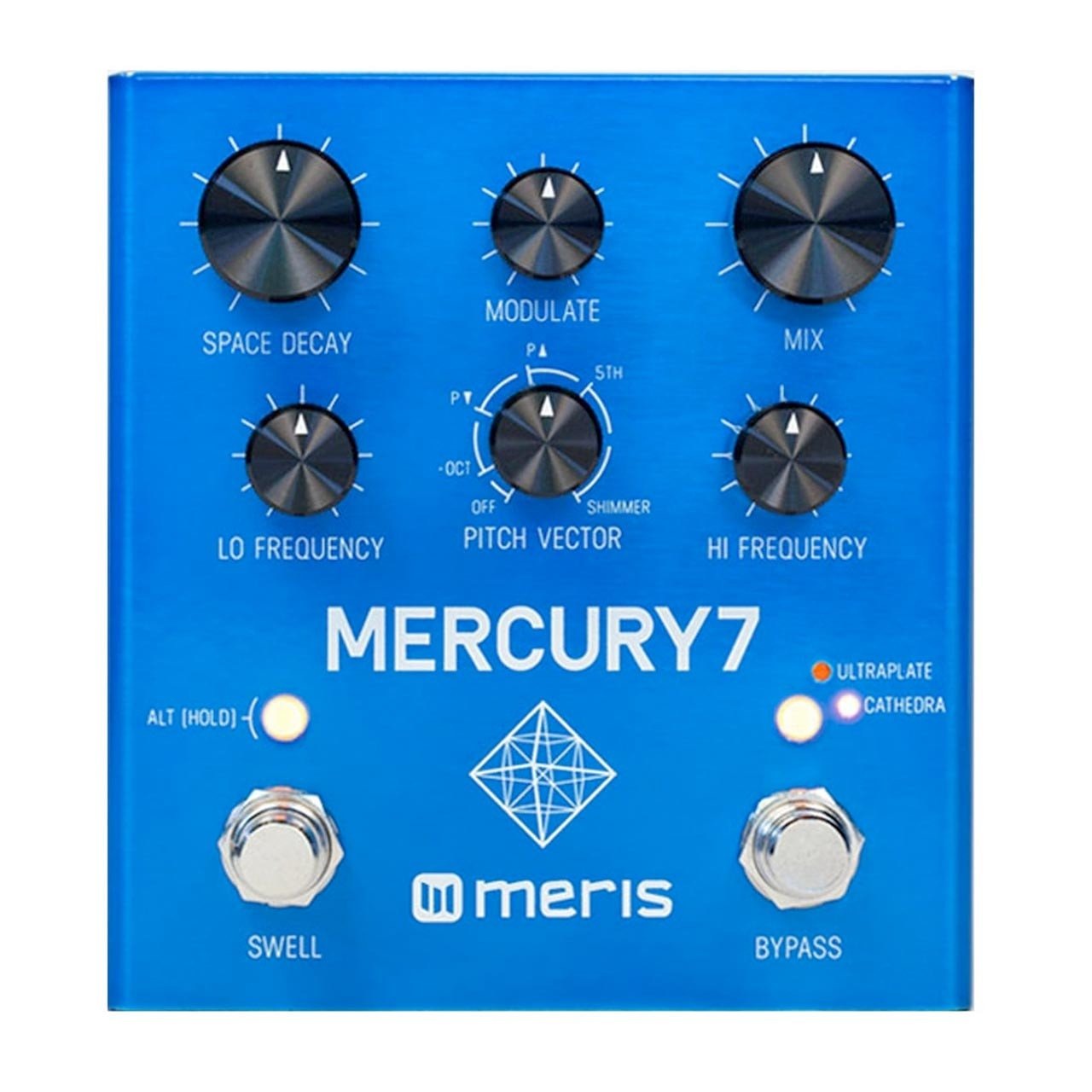 Pedals & Effects - Meris Mercury7 Reverb Pedal