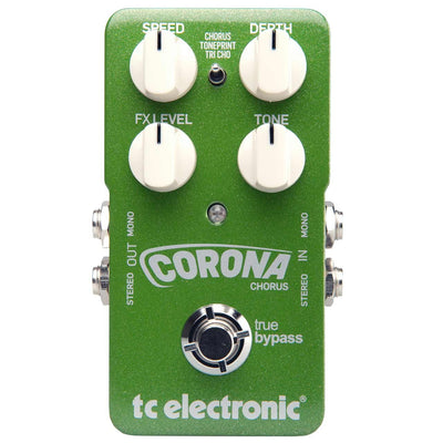 Pedals & Effects - TC Electronic Corona Chorus Flexible SCF & Tri-Chorus Stompbox