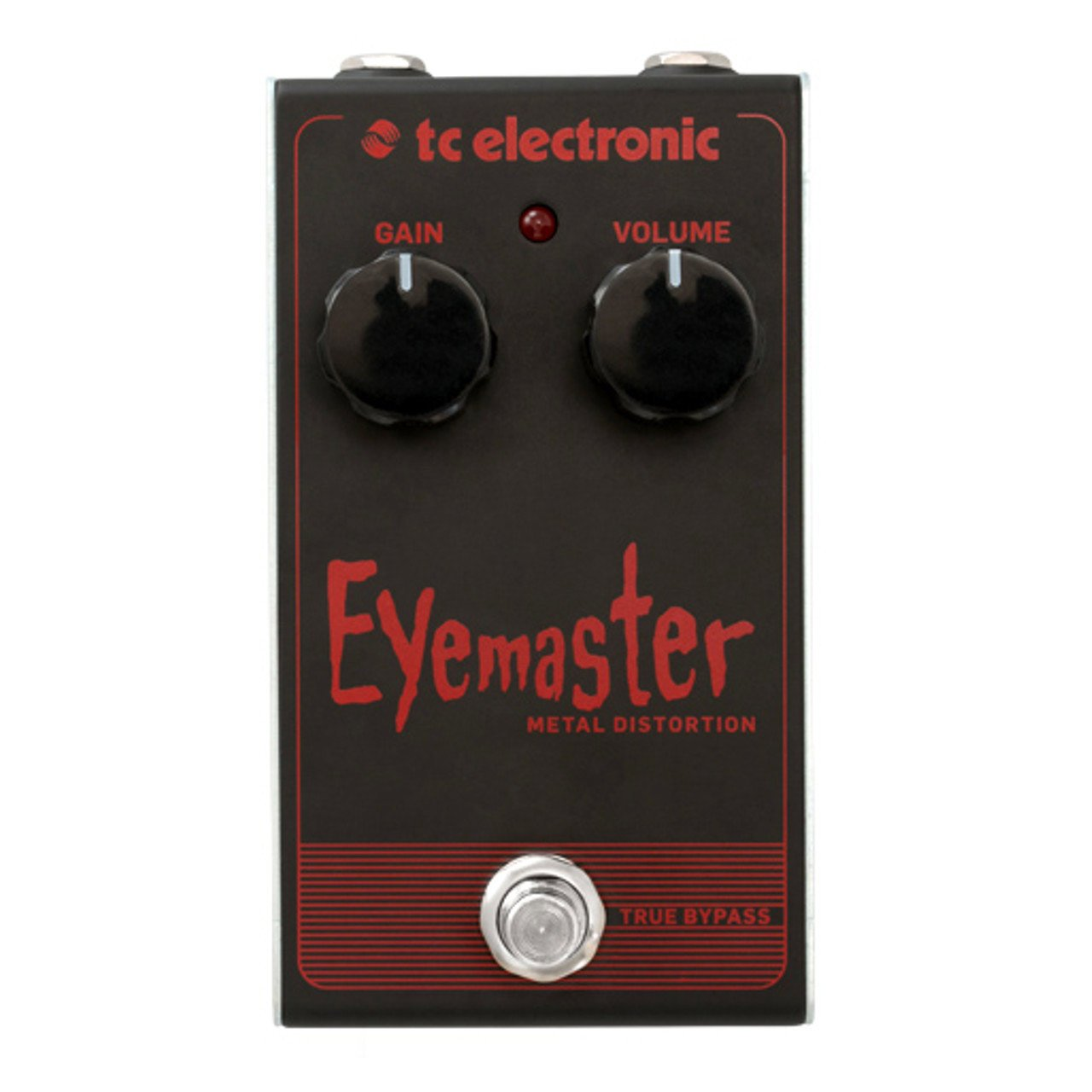 Pedals & Effects - TC Electronic Eyemaster Metal Distortion Pedal