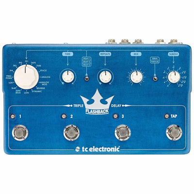 Pedals & Effects - TC Electronic Flashback Triple Delay