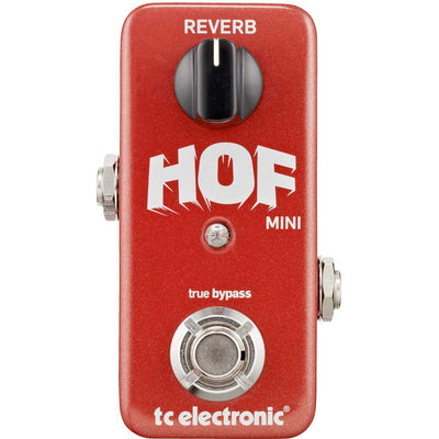 Pedals & Effects - TC Electronic Hall Of Fame HOF MINI Reverb Pedal