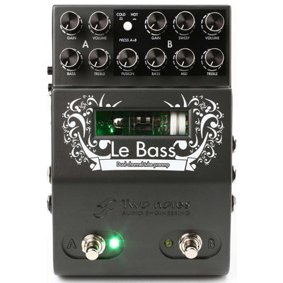 Pedals & Effects - Two Notes Le Bass Pedal - 2 Channels MIDI Tube Preamp