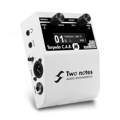 Pedals & Effects - Two Notes Torpedo C.A.B. M Guitar Cab Simulator Pedal