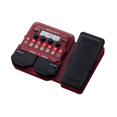 Pedals & Effects - Zoom B1X FOUR Bass Effects Processor