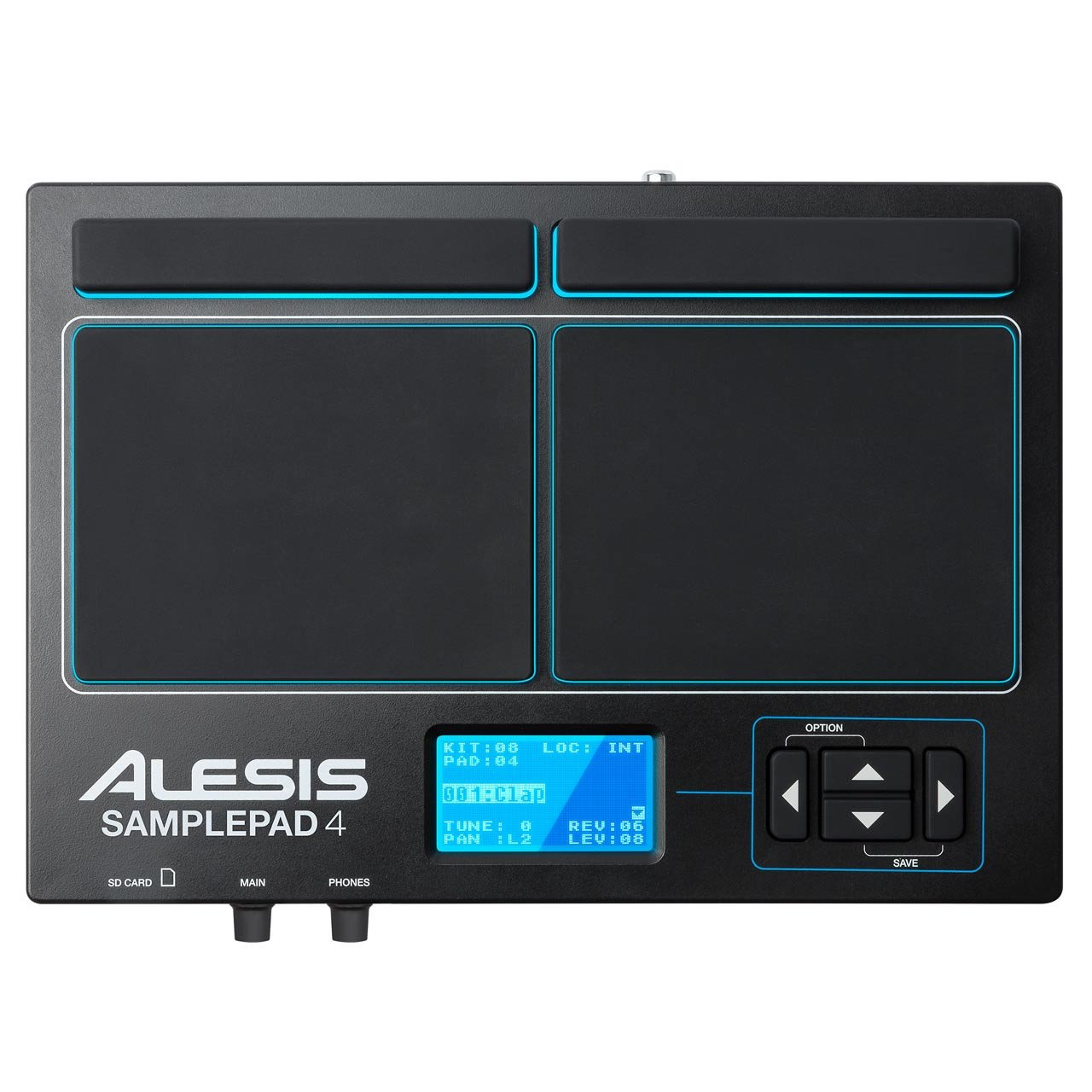 Alesis SAMPLEPAD 4 4-Pad Percussion and Sample-Triggering Instrument