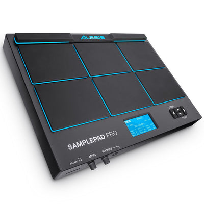 alesis samplepad pro 8 pad percussion instrument sounds easy. Black Bedroom Furniture Sets. Home Design Ideas