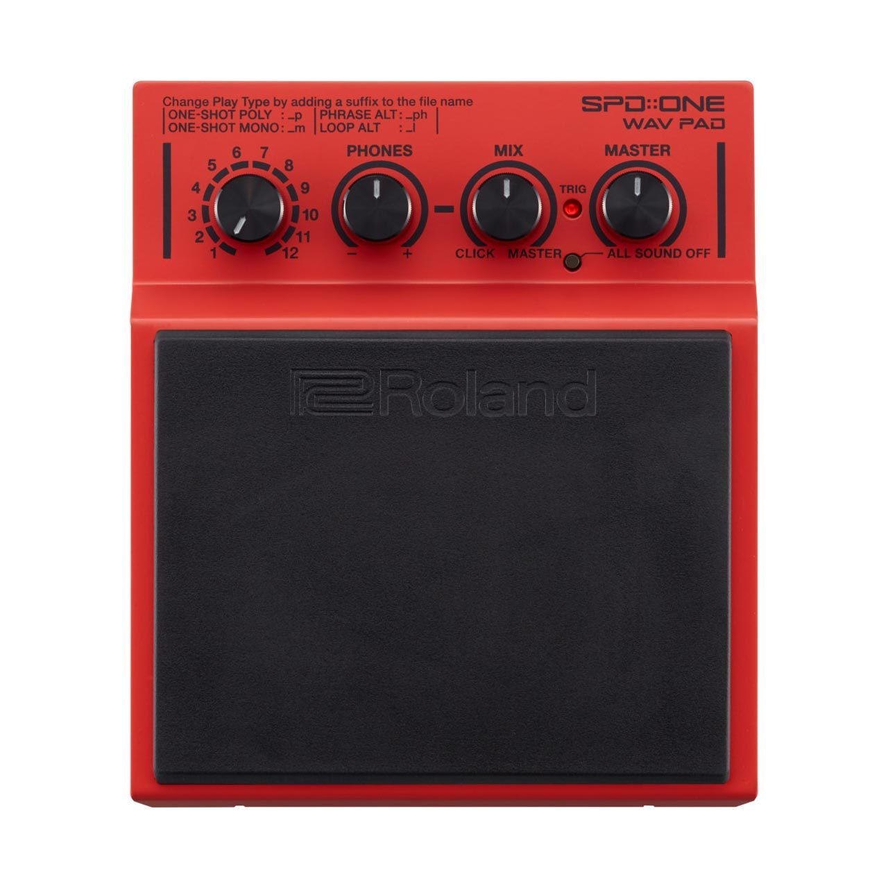 Percussion Controllers - Roland SPD ONE Wave Pad - Percussion Pad
