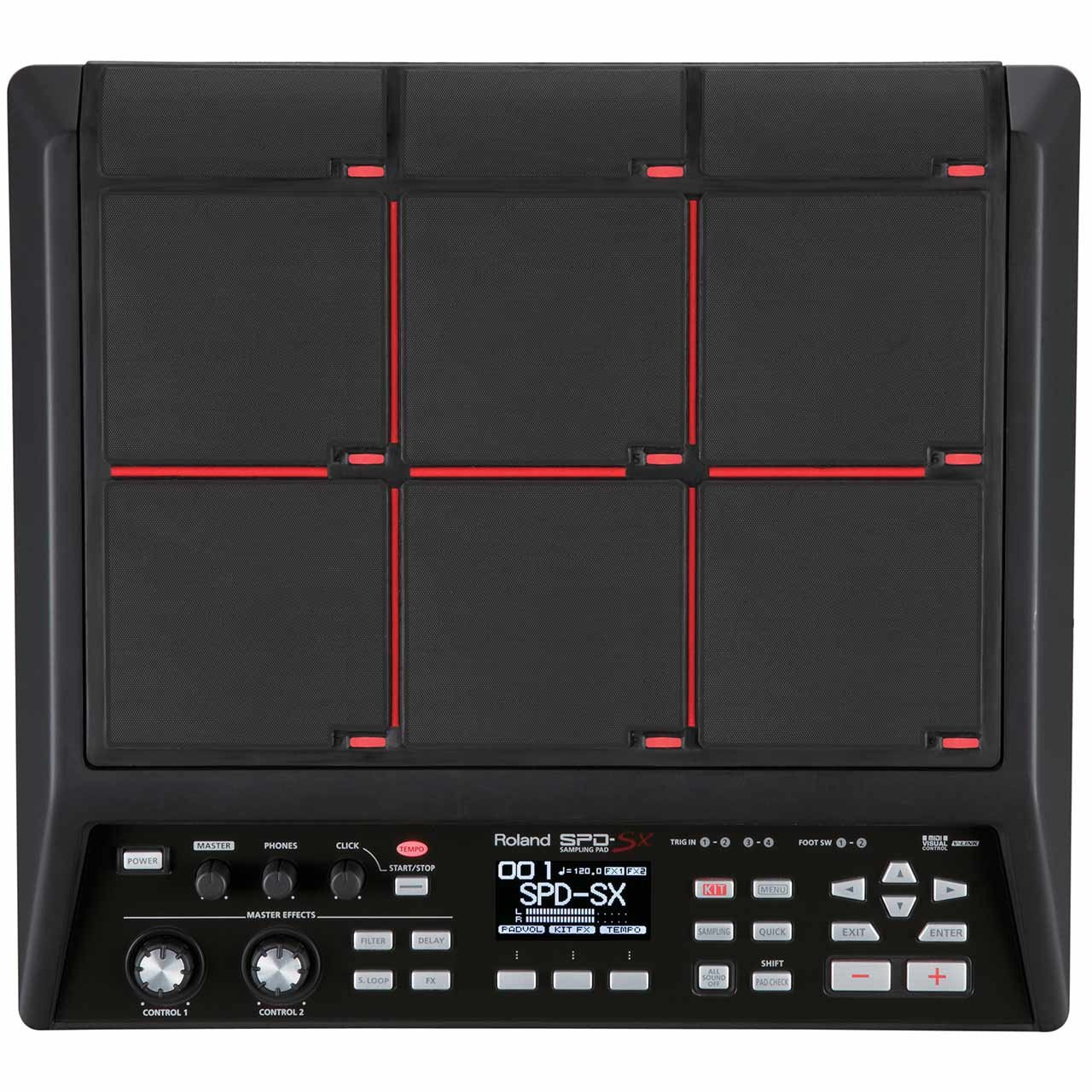 Percussion Controllers - Roland SPD-SX Percussion Sampling Pad