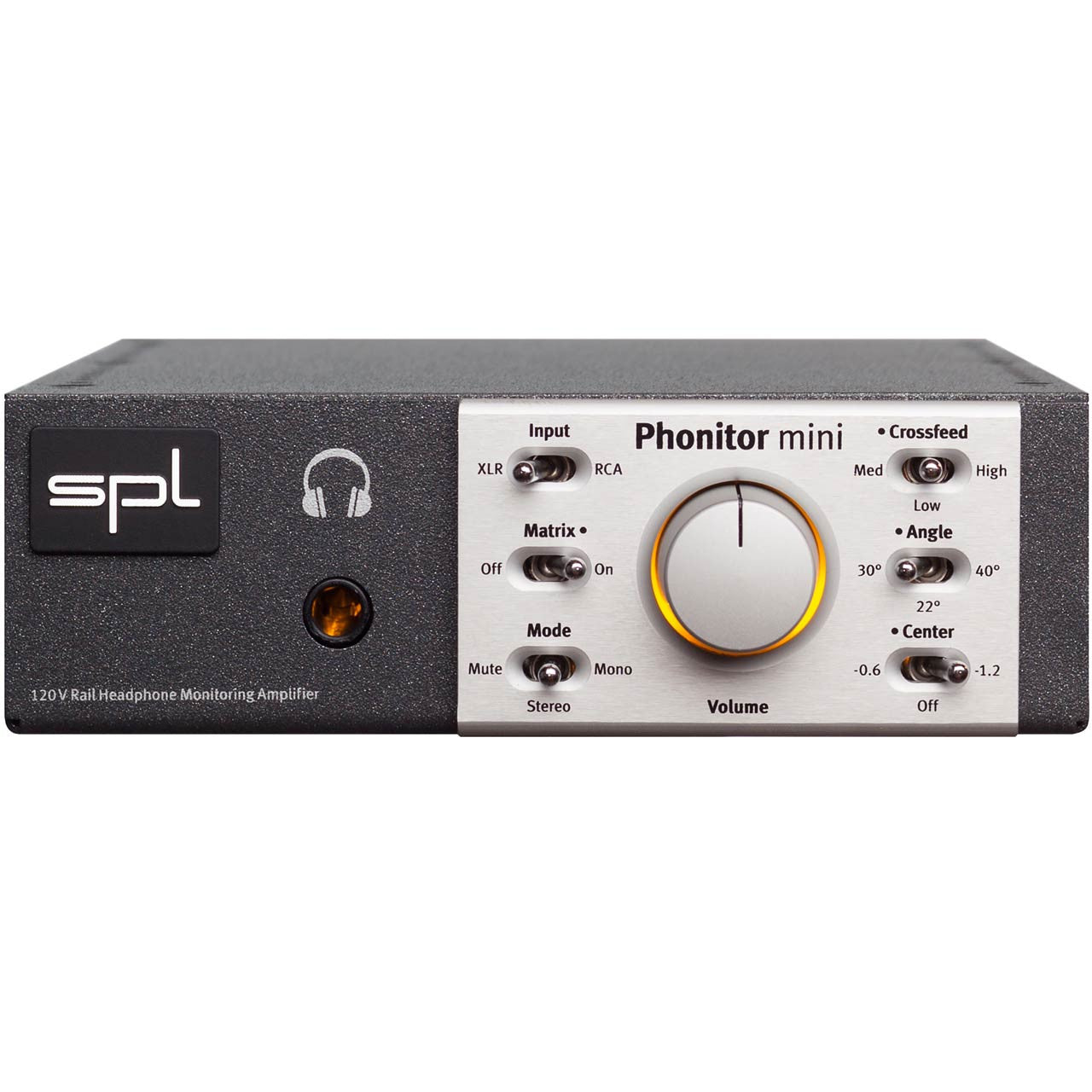 image of SPL Phonitor mini Headphone Monitoring Amplifier front panel