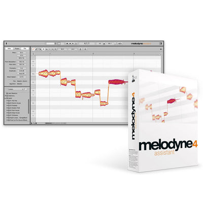 Plug-in Effects - Celemony Melodyne 4 Assistant