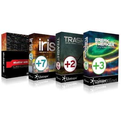 Plug-in Effects - IZotope Creative Bundle - Iris 2, Trash 2, BreakTweaker Expanded & Stutter Edit