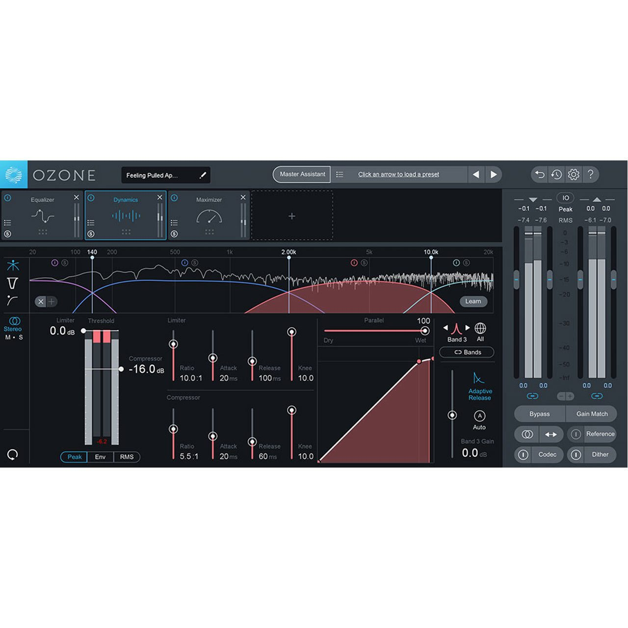 iZotope Ozone 8 ADVANCED Mastering Software (UPGRADE)