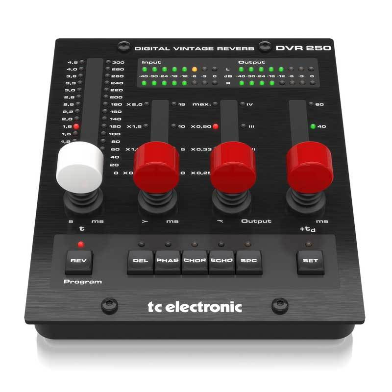 Plug-in Effects - TC Electronic DVR-250-DT Digital Vintage Reverb With Hardware Interface
