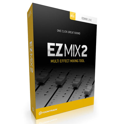 Plug-in Effects - Toontrack EZMix2 Multi Effect Mixing Tool