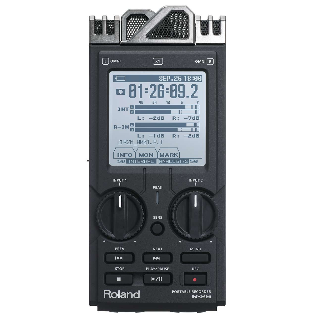 Portable Recorder - Roland R-26 6-Channel Digital Portable Recorder