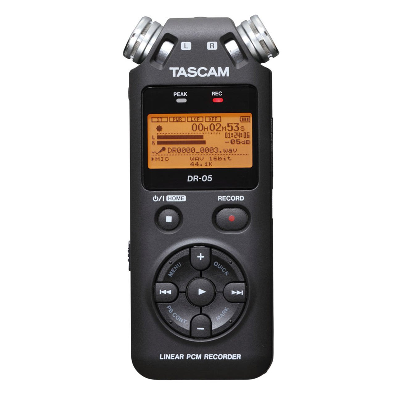 Portable Recorder - Tascam DR-05 Version 2 - Handheld Stereo Digital Recorder
