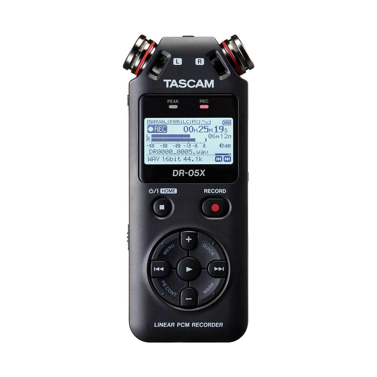 Portable Recorder - Tascam DR-05X Handheld Recorder