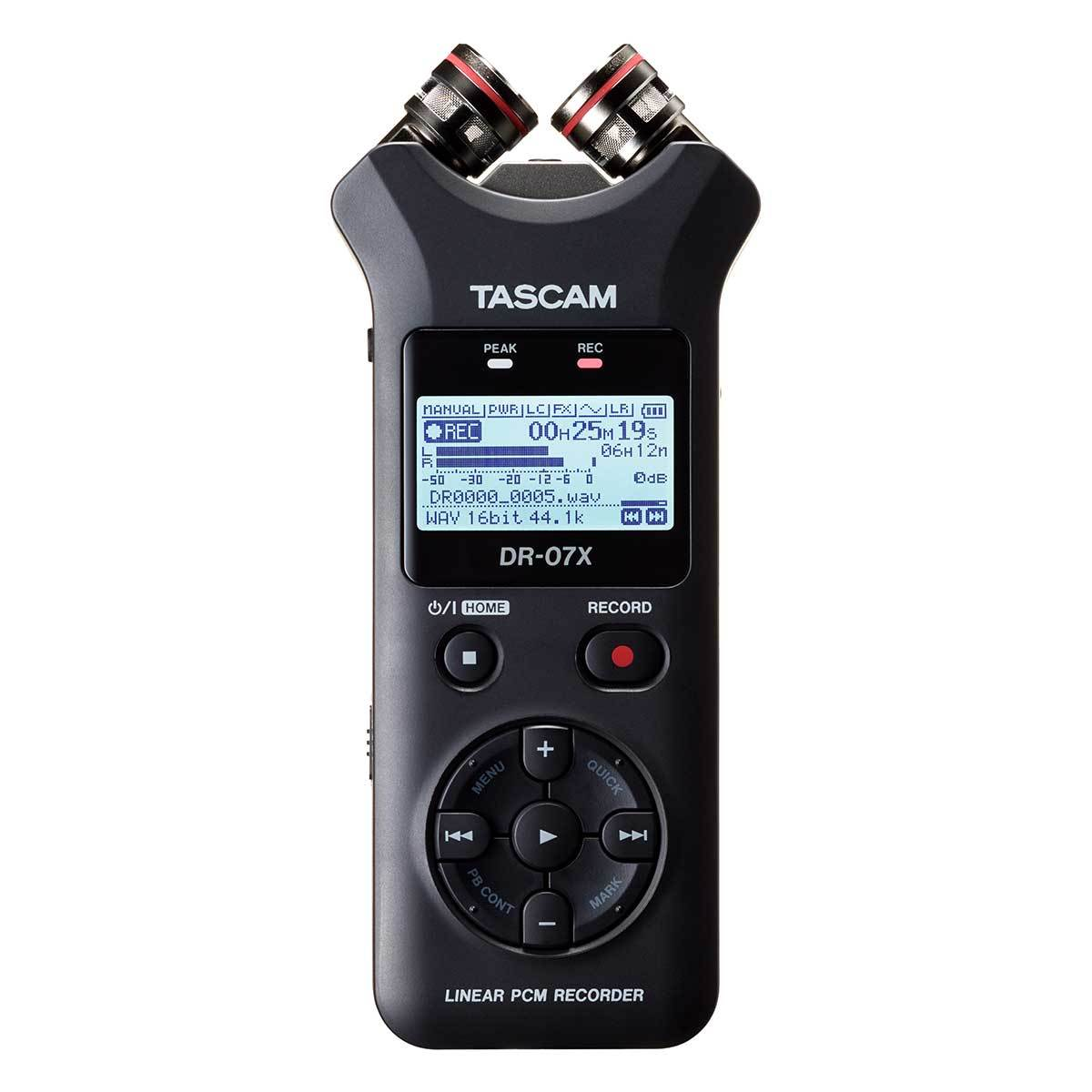 Portable Recorder - Tascam DR-07X Stereo Handheld Recorder & USB Audio Interface