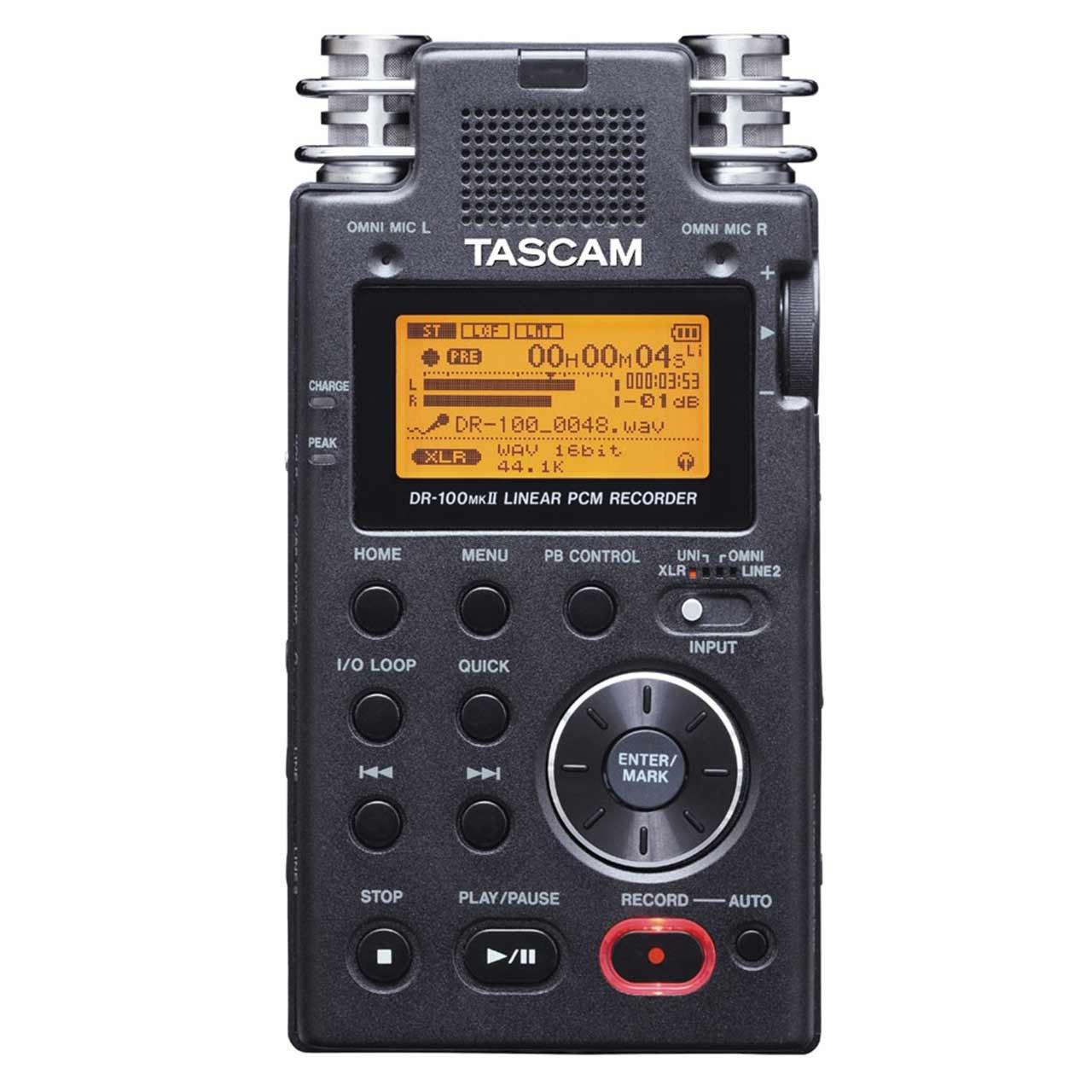 Portable Recorder - Tascam DR-100MKII High End Stereo Portable Digital Recorder