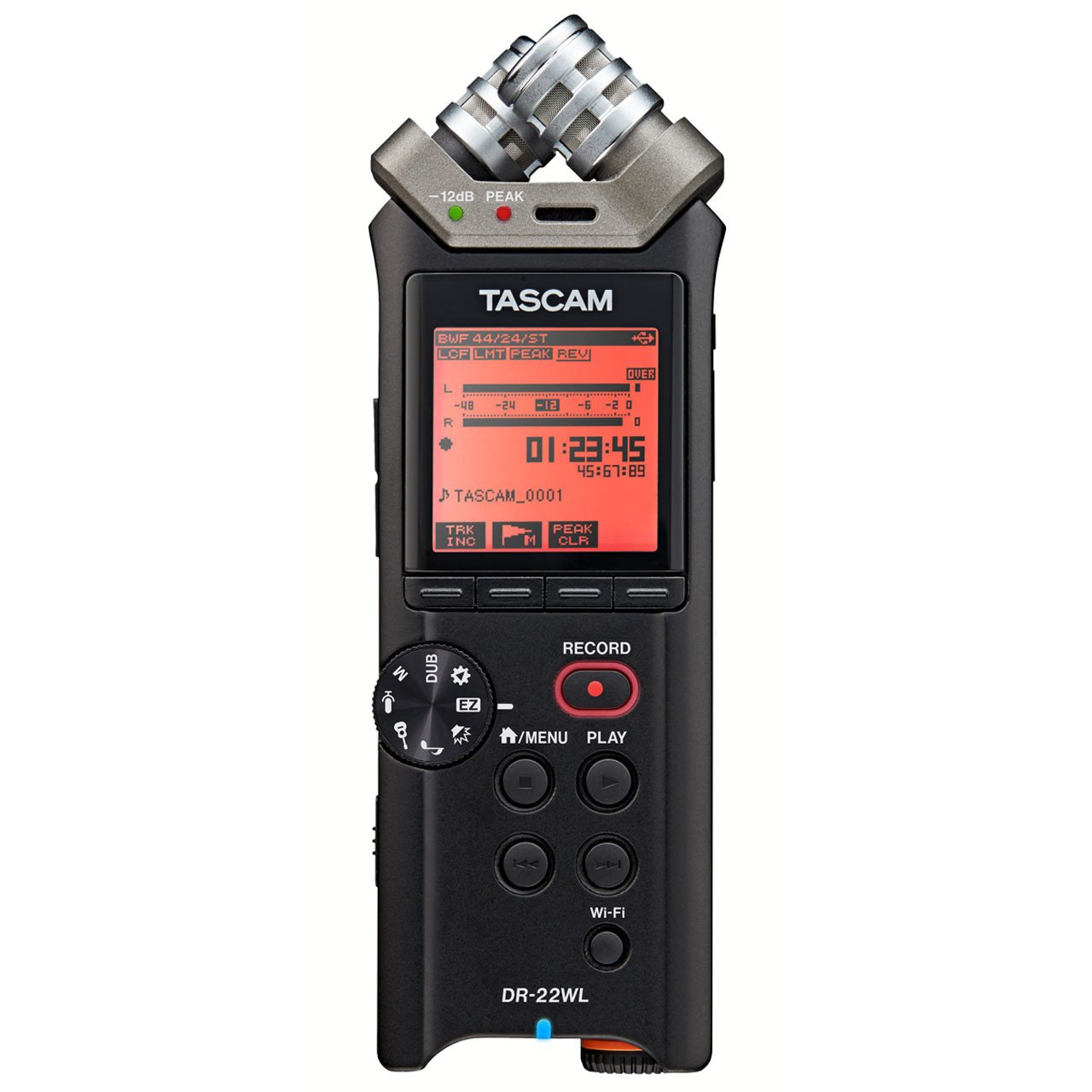 Portable Recorder - Tascam DR-22WL Handheld Digital Recorder With WIFI