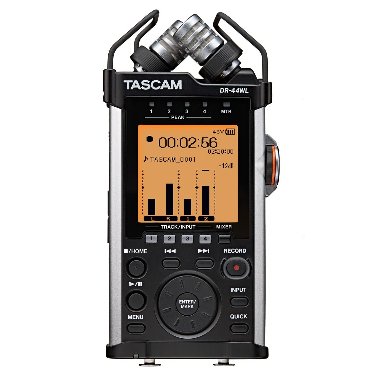 Portable Recorder - Tascam DR-44WL Handheld Digital Recorder With WIFI
