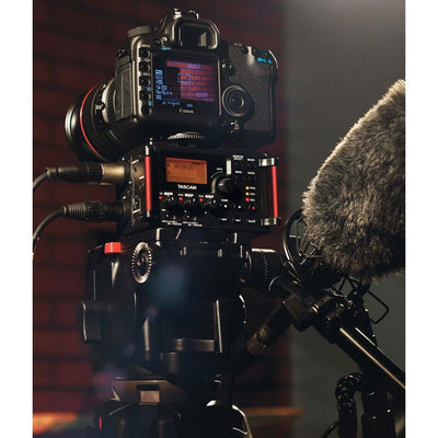 Portable Recorder - Tascam DR-60D MKII Linear PCM Recorder / Mixer For DSLR