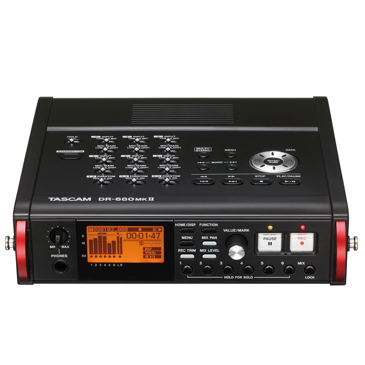 Portable Recorder - Tascam DR-680MKII Portable Multichannel Recorder