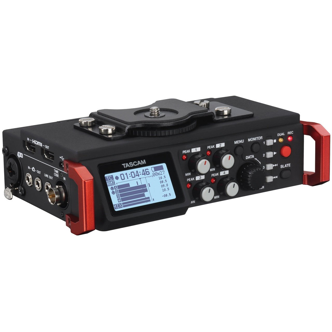 Portable Recorder - Tascam DR-701D Linear PCM Recorder/Mixer For DSLR Camera