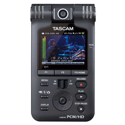 Portable Recorder - Tascam DR-V1HD Portable Handheld Audio Video Recorder