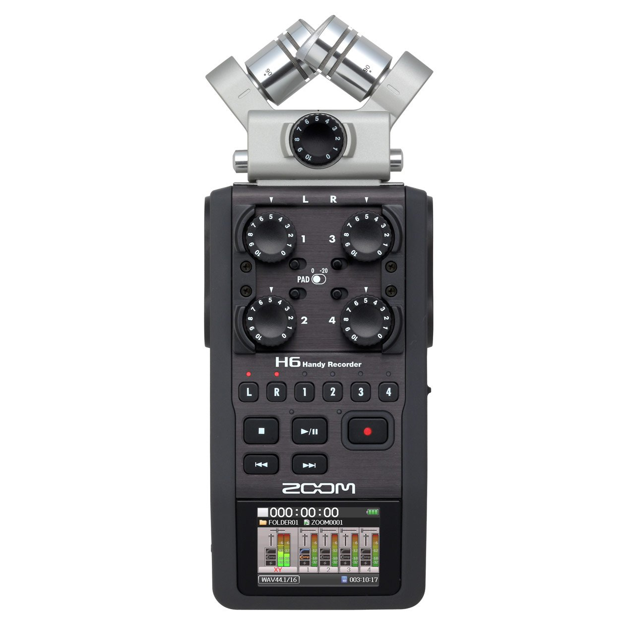 Portable Recorder - Zoom H6 Handy Recorder