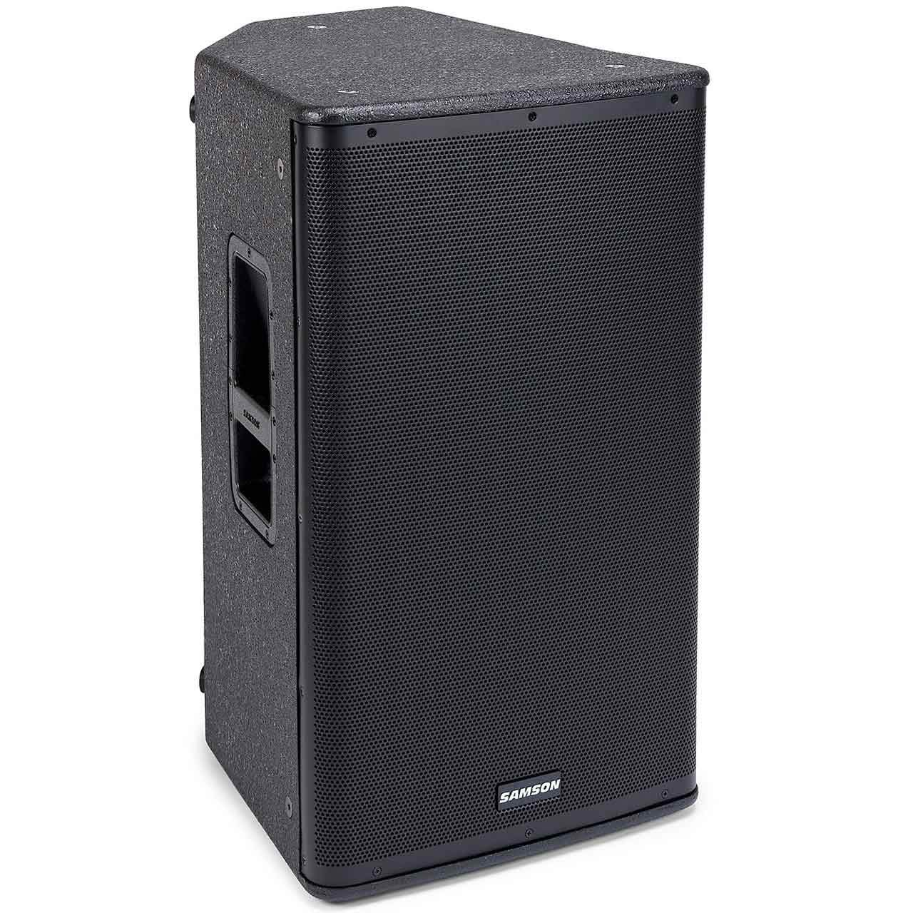 Powered PA Speakers - Samson RSX115A - 1600W 2-Way Active Loudspeaker (SINGLE)