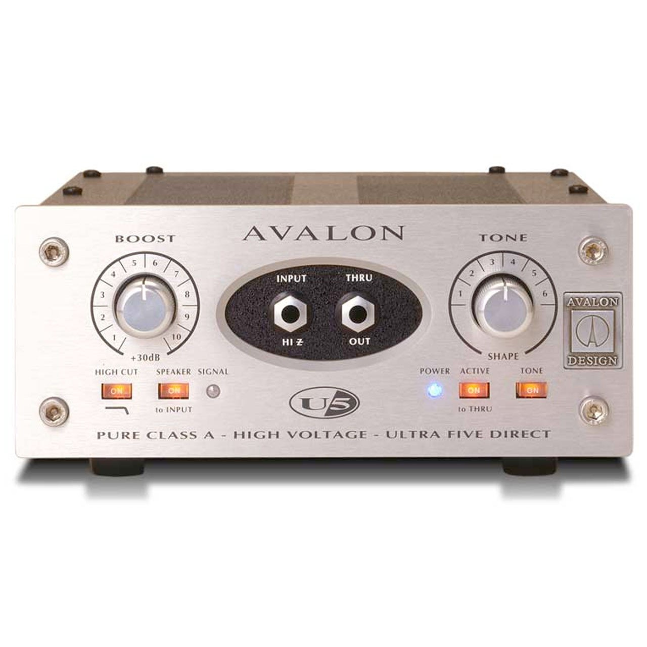 Preamps/Channel Strips - Avalon Design U5 Mono Instrument & DI Preamplifier