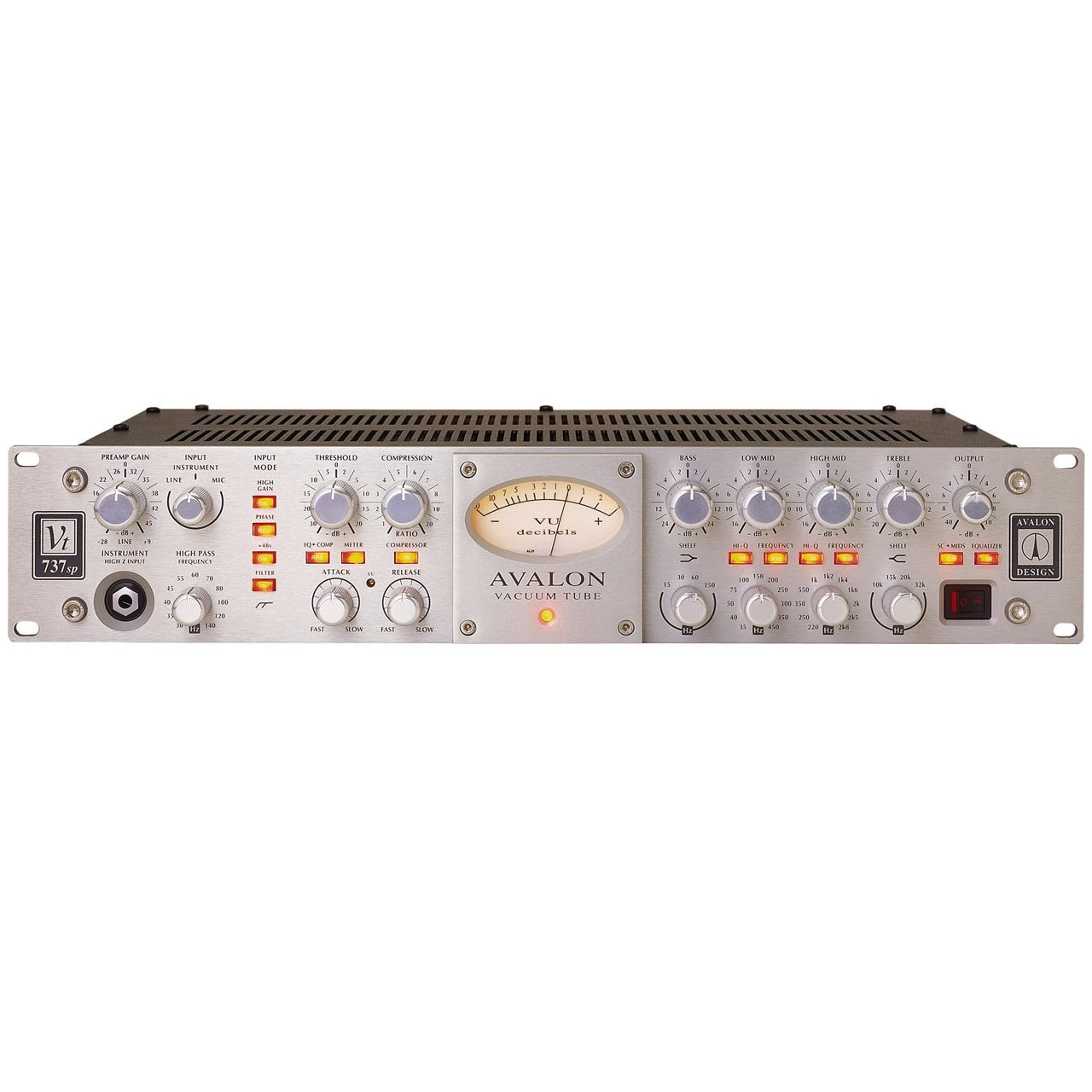 Preamps/Channel Strips - Avalon Design VT-737SP Channel Strip SILVER