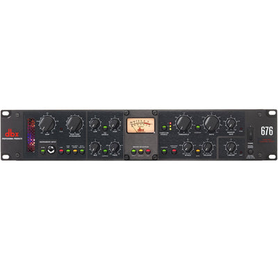 Preamps/Channel Strips - Dbx 676 Tube Microphone Preamp Channel Strip