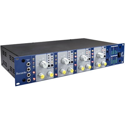 Preamps/Channel Strips - Focusrite ISA 428 MkII Four Chanel Preamp