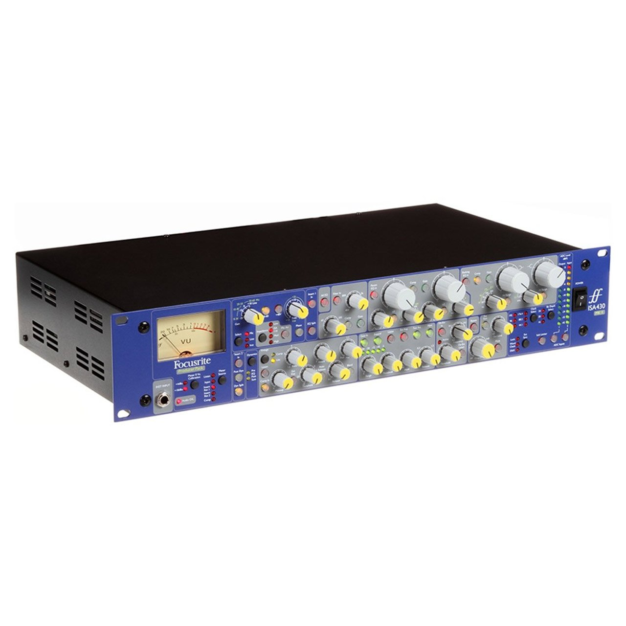 Preamps/Channel Strips - Focusrite ISA 430 MkII Single Channel Mic-Pre EQ And Compressor