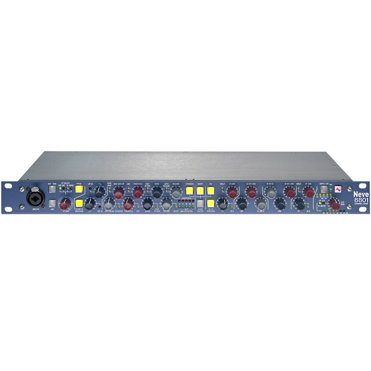 Preamps/Channel Strips - Neve AMS 8801 Channel Strip – Microphone Preamplifier / Equaliser / Dynamics