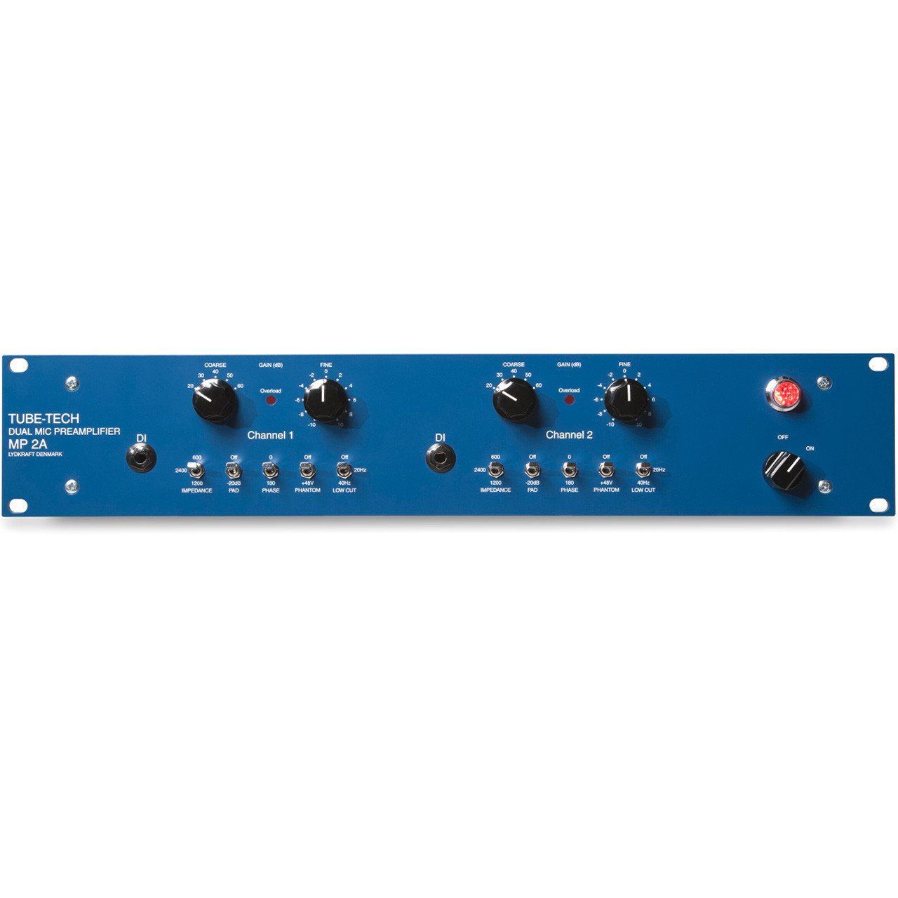 Preamps/Channel Strips - Tube-Tech MP2A Dual Microphone Preamplifier And DI