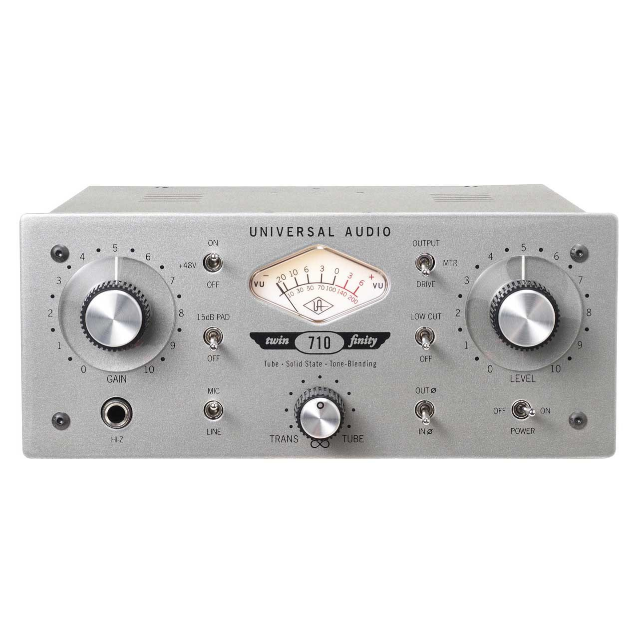 Universal Audio 710 Twin-Finity Mic Preamp & D.I.